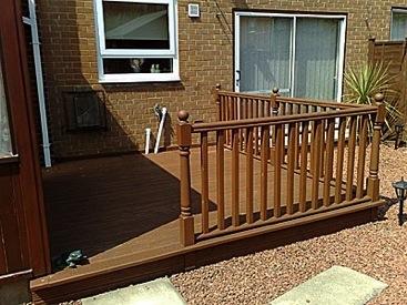 Joinery in ingleby barwick decking for Garden decking middlesbrough