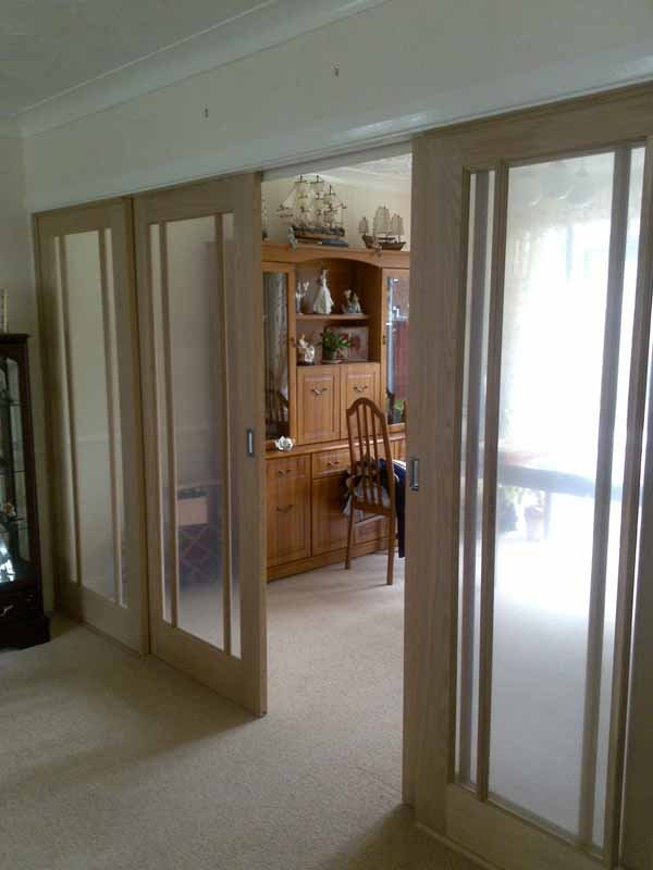 Partition doors full image for sliding doors interior for Interior sliding partition doors