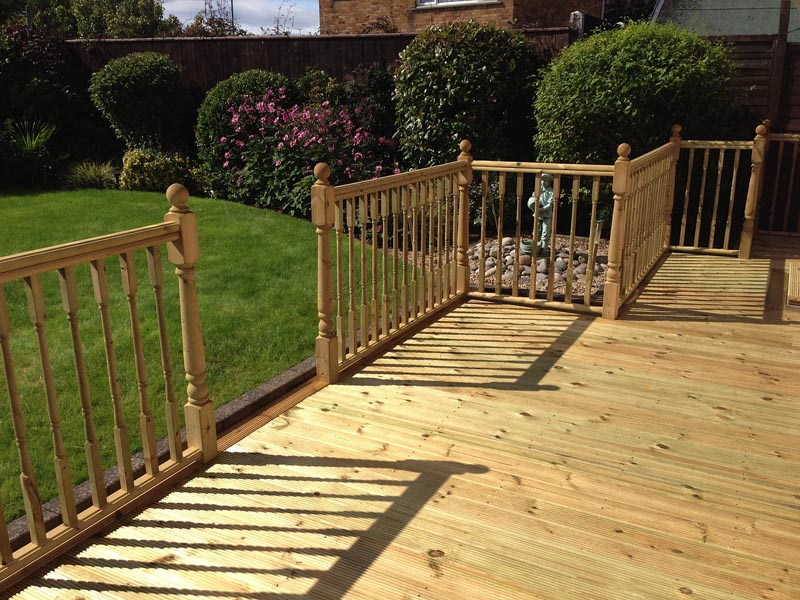 Joinery gallery for decking services teesside for Garden decking middlesbrough